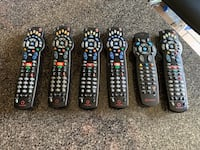 Rogers Cable TV Universal Remotes - 6 of them