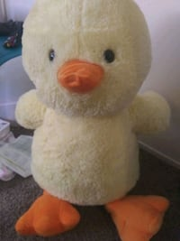 Childrens giant easter chick stuffed animal