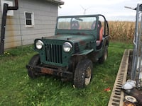 1957 WILLYS JEEP CJ-3B 435 mi