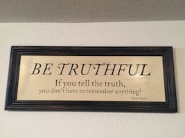 """Home Wall Art - Distressed Wood Inspirational Picture 36""""L x 14""""W"""
