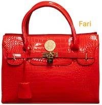 Farie Top Handle Tote  Charlotte