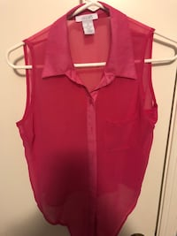 Pink Tie Front Tank Brookeville, 20833