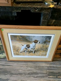 """Staunch"" Dog Picture and Frame"