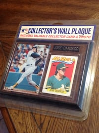 Jose canseco plaque