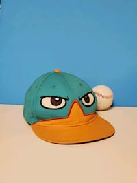 Disney Phineas & Ferb Perry the Platypus Snapback Hat