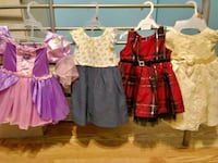 Assorted baby dresses and pink snow suit Baltimore, 21211