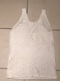 women's white sleeveless top Vancouver, V6G