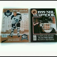 2 NHL Official yearbooks 1998-99   Toronto, M6M 1T1