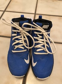 Nike size 1 basketball sneakers North Potomac, 20878