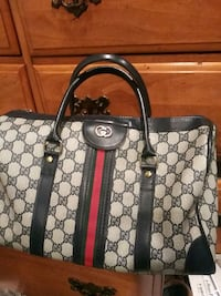 brown and black Gucci monogram tote bag Monrovia, 91016