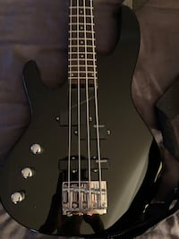 ESP B-50 left handed bass with case and cable  Virginia Beach, 23455