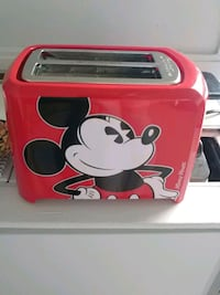 Lightly used mickey mouse toaster  Kitchener, N2M