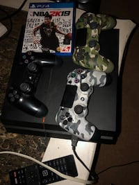 Price is negotiable. Great working ps4 . Don't play it work too much need it gone . Everything you see in the picture comes along with it .  43 km