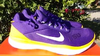LSU Nike Free Trainer V7 SG men sizes 9 to 13 New  Metairie, 70006
