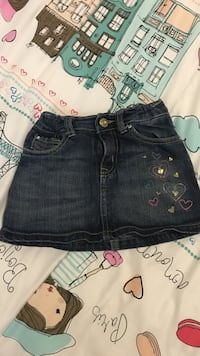 blue denim skirt Calgary, T1Y 3H7