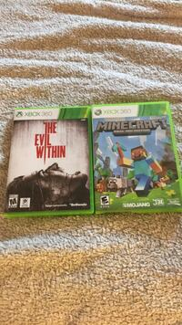 two Xbox 360 game cases