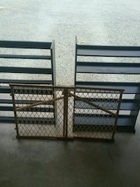 DVD shelving and baby gate Concord, 24538