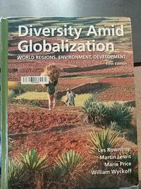 Diversity Amid Globalization by Les Rowntree book Virginia Beach, 23454