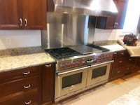 wolf 60 in pro Range and matching hood McLean, 22101