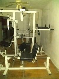 The Paramount 4500 home gym.