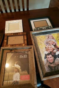 Picture frames (5) various styles