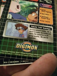 Digimon playing card