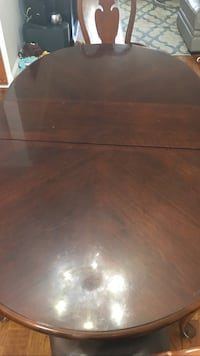 brown wooden coffee table with drawer New York, 11357