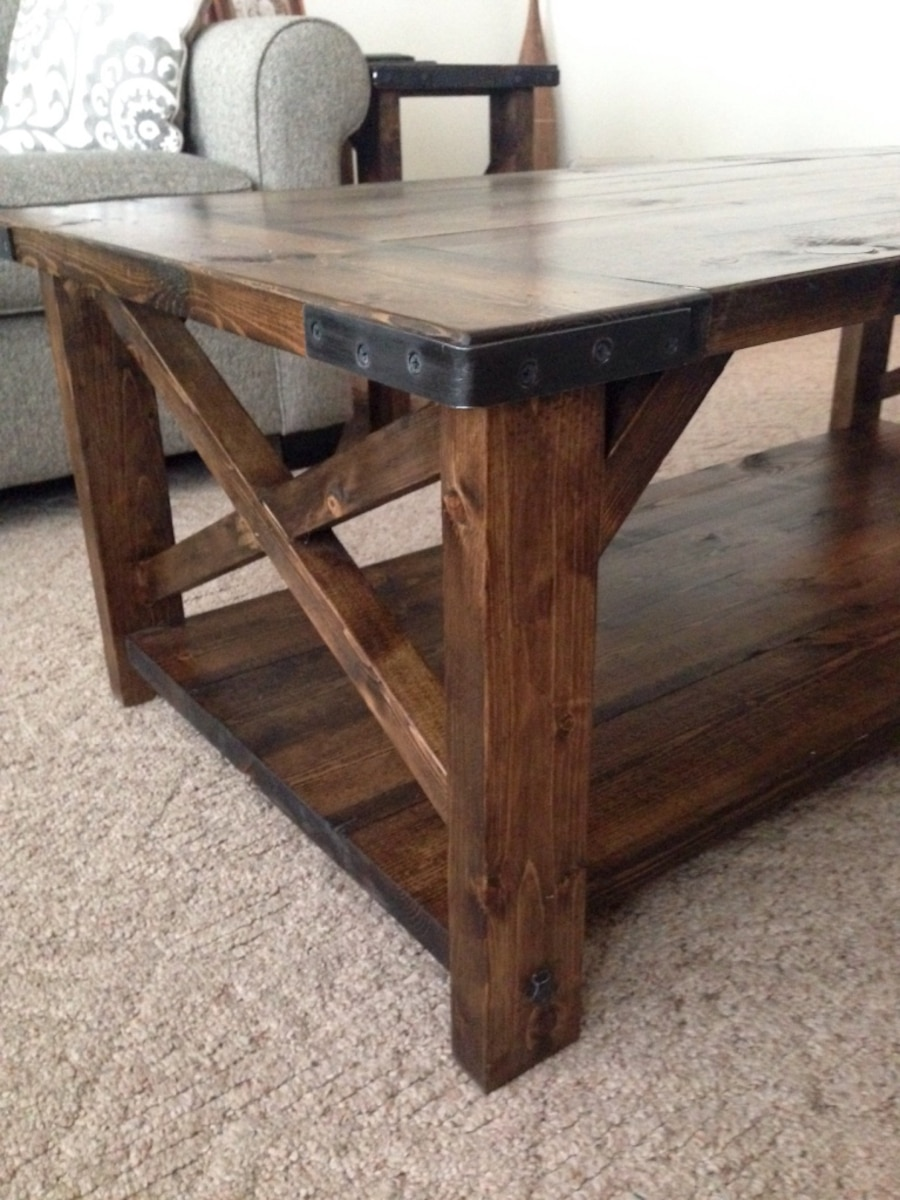 Rustic Coffee And End Table Set In Lexington Letgo