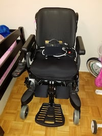 black motorized wheelchair Markham, L3T 4X2