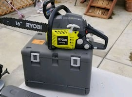 Ryobi chainsaw 16 in 2 cicles