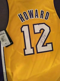 Autographed Howard jersey