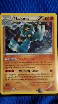 blue and red Pokemon trading card Charleston, 25387