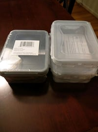 BRAND NEW food containers sealed in original pkgng