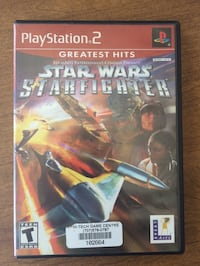 Star Wars Starfighter ps2 game Santa Rosa, 95405