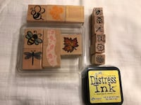 Botanical and Pollinators Rubber Stamps - Crafts Arlington, 22206