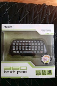 KMD Xbox 360 Text Messaging Pad Black Centreville, 20120