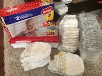 137 size 2 Diapers Kennesaw, 30152