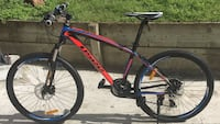 26 ers usee mountain bike aluminum medium frame front and rear mechanical disc brakes brand new bikes San Jose, 95132