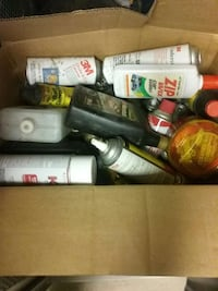 20 cans of automotive sprays, waxes, lubricants