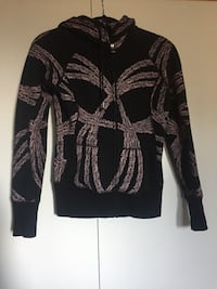 TNA zip up sweater xs