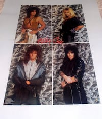 MOTLEY CRUE POSTER FROM 1987 Toronto