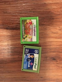 Leap pad games $5each or trade