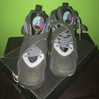 pair of black Air Jordan basketball shoes Hyattsville, 20785