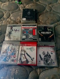 assorted Sony PS3 game cases Denison, 75020