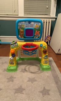 Soccer Goal and Basketball Hoop Toy