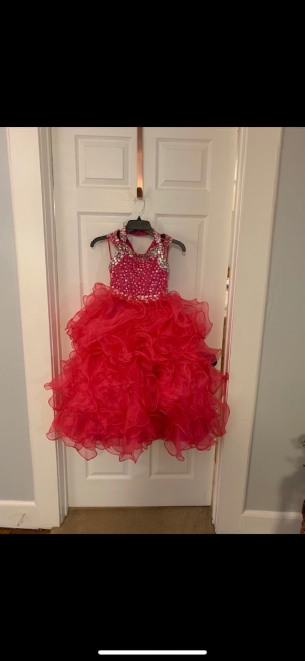 Pageant dress- size 10/12 4