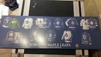 Leafs solid wood poster Ontario, M6N 3A6