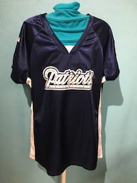 Patriots NFL Women's Large with Lace on Sleeves Jersey  Winnipeg, R2M 1P4