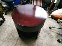 round brown wooden coffee table Clearwater, 33762