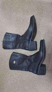 Ladies Harley Davidson leather boots  597 km